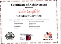child net certification