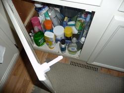 cupboard latch