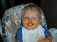 messy feeding