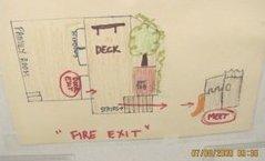 child care fire evauation