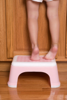 potty training problems using a step stool