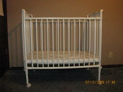 steel crib by Costco