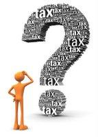 taxes question mark